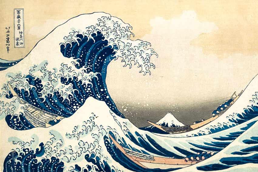 Katsushika Hokusa, La grande onda di Kanagawa, 1830-31