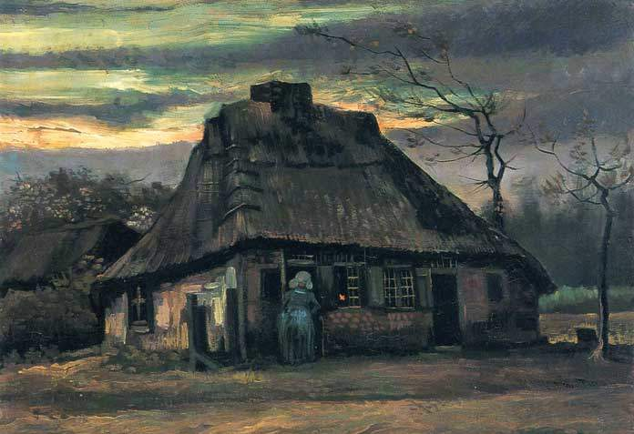 Vincent Van Gogh, Cappelli di paglia al crepuscolo, 1887