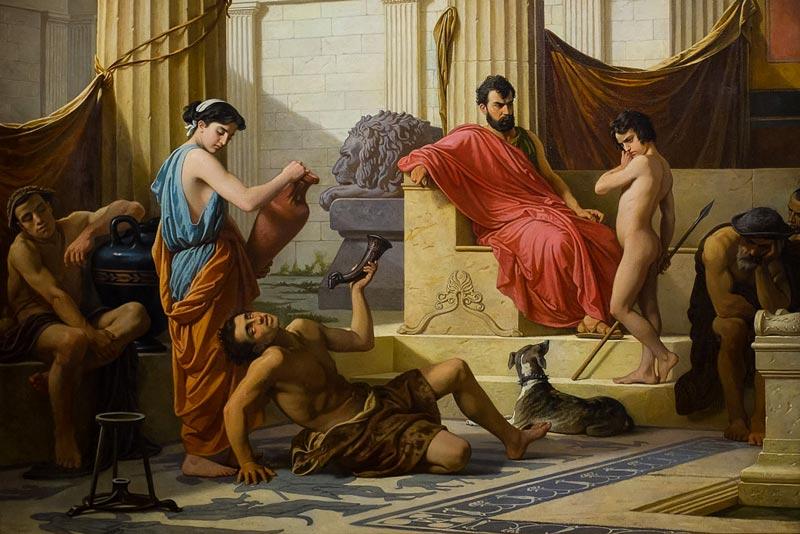 Cesare Mussini, Educazione a Sparta, 1850