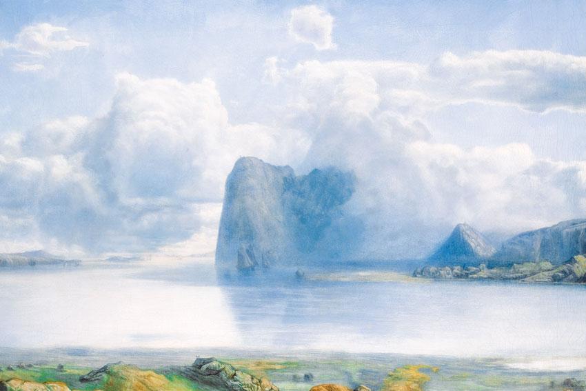 Lars Hertervig Island Borgoya, protagonista di Melancholia di Jon Fosse