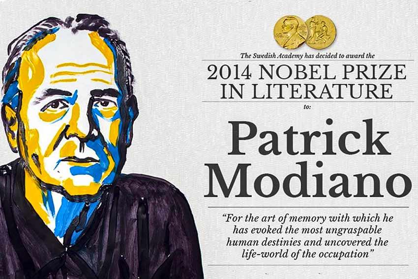 Patrick Modiano Nobel