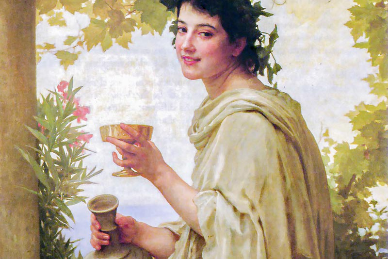 William Adolphe Bouguereau, Baccante, 1894