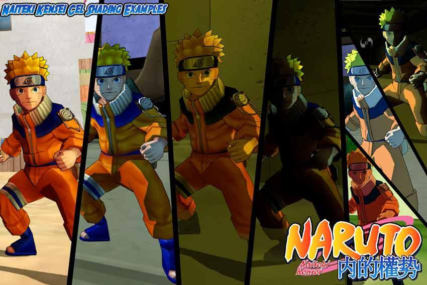 Cel Shading Naruto