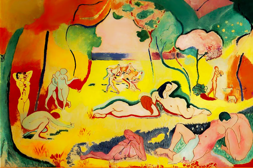 Henri Matisse Gioia di vivere origini del carpe diem