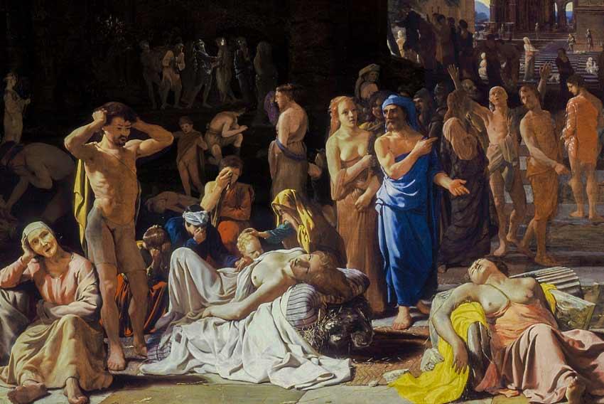 La peste in una città antica