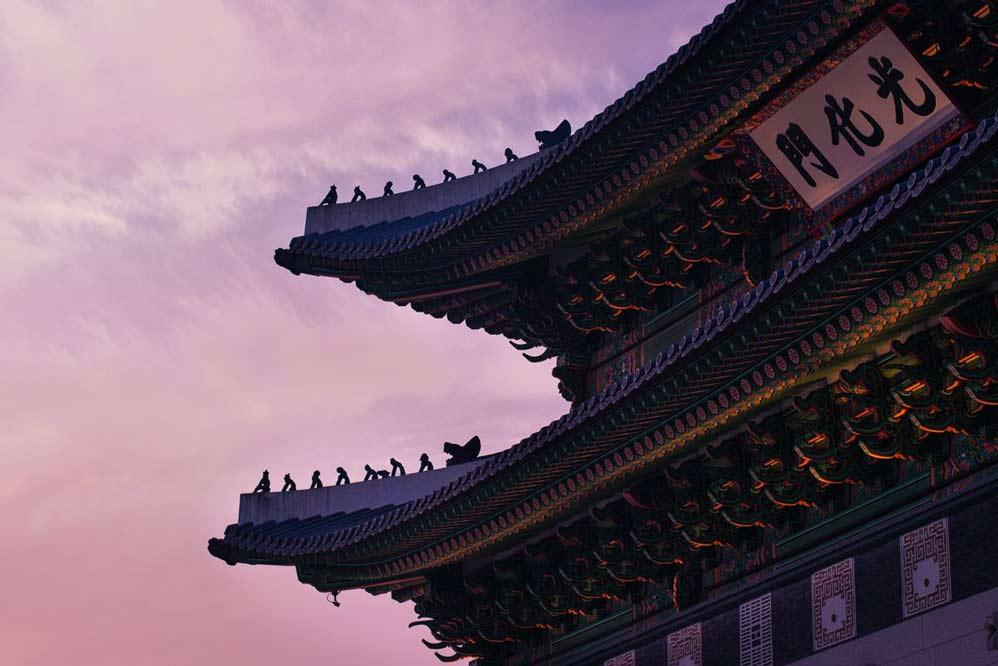 Tempio Taoista. Il Taoismo è la religione che è nata dal Tao Te Ching