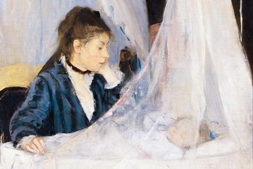 Berthe Morisot, La culla, 1875