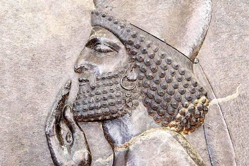 Fregio palaziale achemenide Persepoli