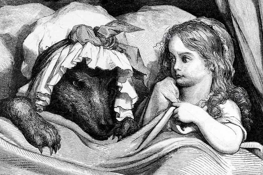 Gustave Doré, Cappuccetto Rosso, 1862