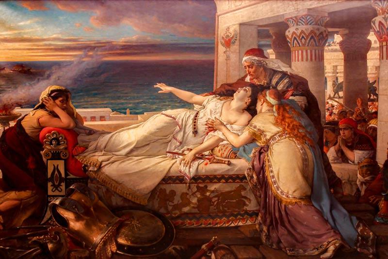 Joseph Stallaert, La morte di Didone, 1872