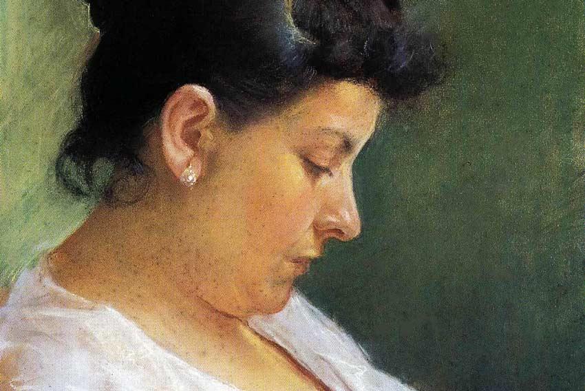 Pablo Picasso, La madre, 1896