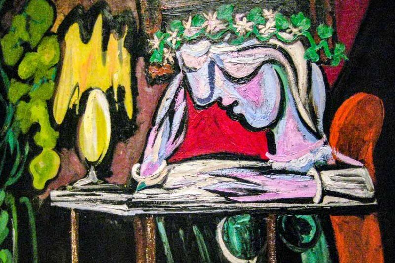 Pablo Picasso, Ragazza che legge al tavolo, 1934