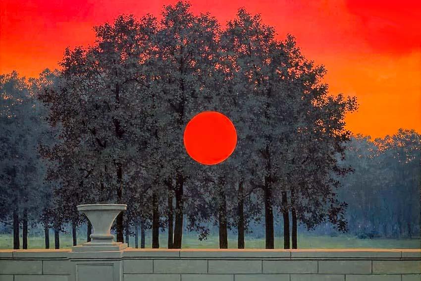 René Magritte, Il banchetto, 1958