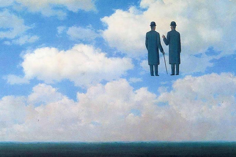 Rene Magritte L'infinita ricognizione 1963