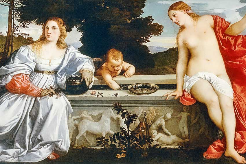 Tiziano Vecellio, Amor Sacro e Amor Profano, 1515