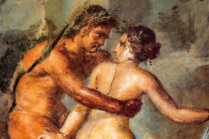 Affreschi Pompei Satyricon