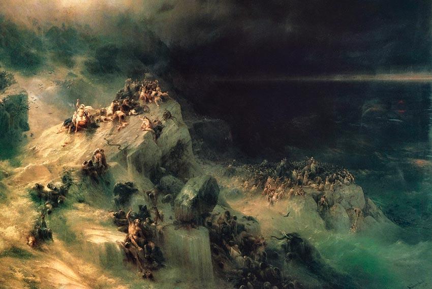 Ivan Aivazovsky, Diluvio, 1864