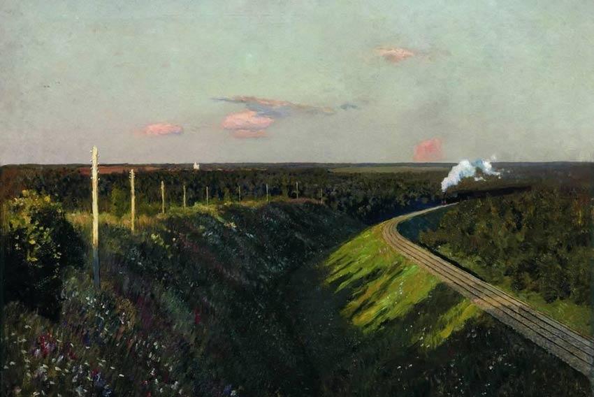 Isaac Leviathan Ferrovia 1899