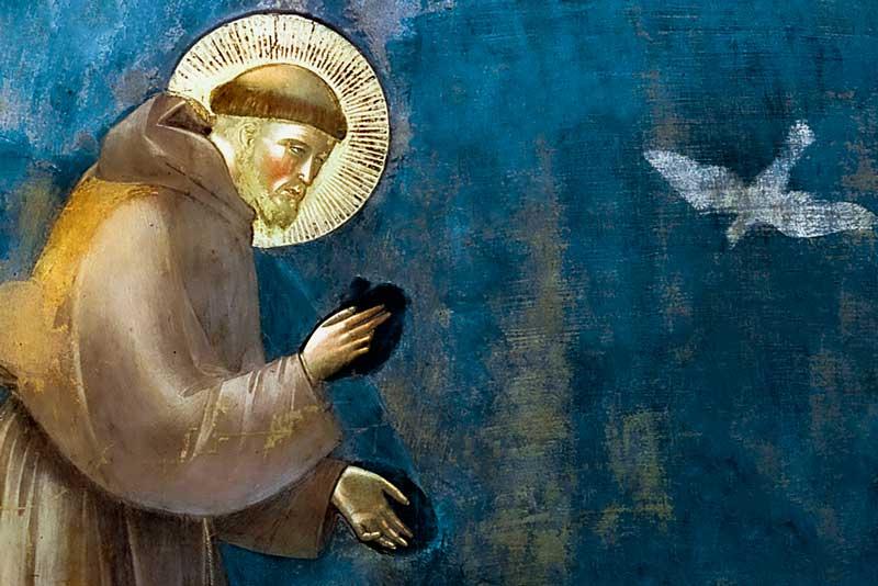 Giotto, San Francesco