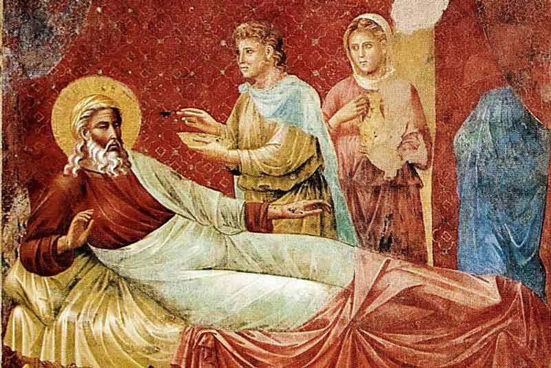 Isacco respinge Esaù