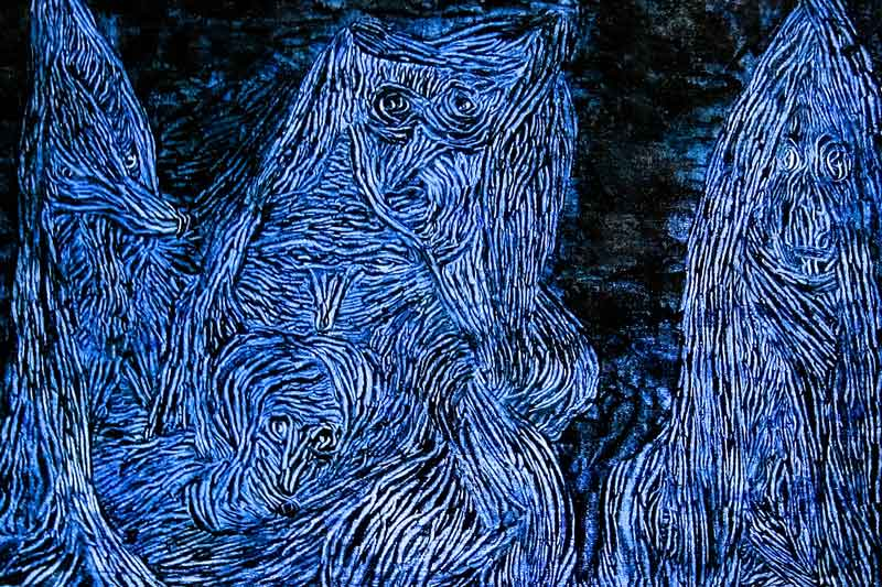 Paul Klee, La notte di Valpurga, 1935