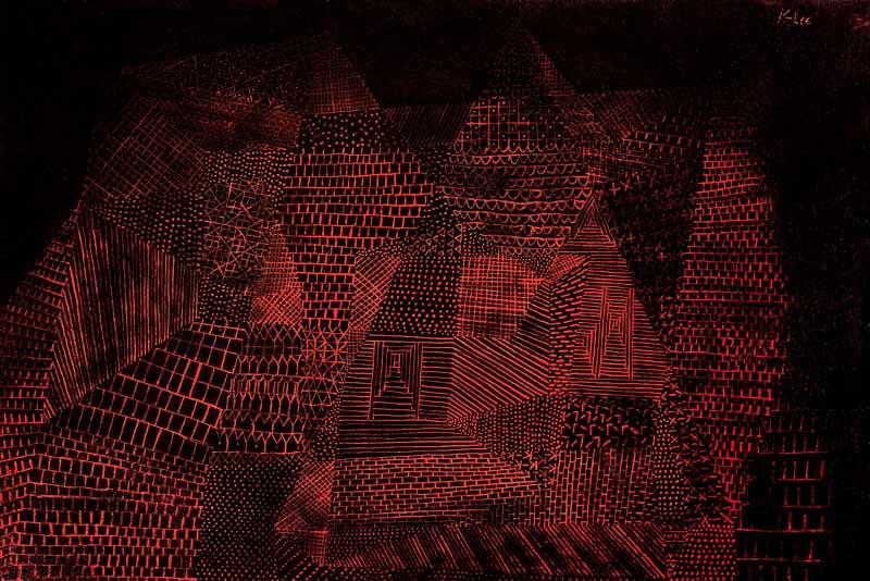 Paul Klee, Roccia artificiale, 1927