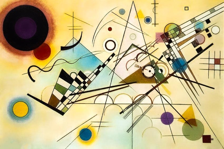 Vasilij Kandinskij Composizione VIII