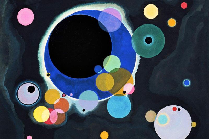 Vassilij Kandinsky, Diversi cerchi, 1926