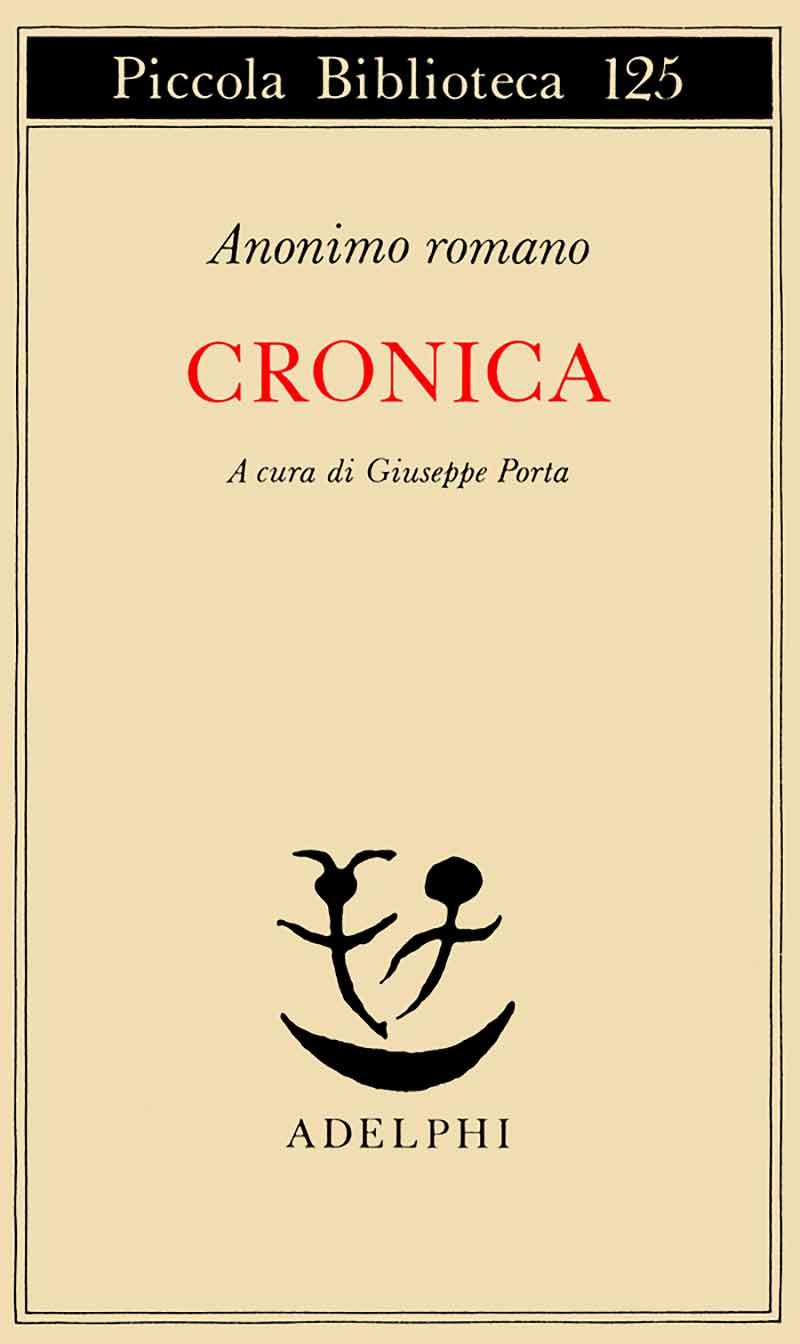 Cronica di Anonimo Romano
