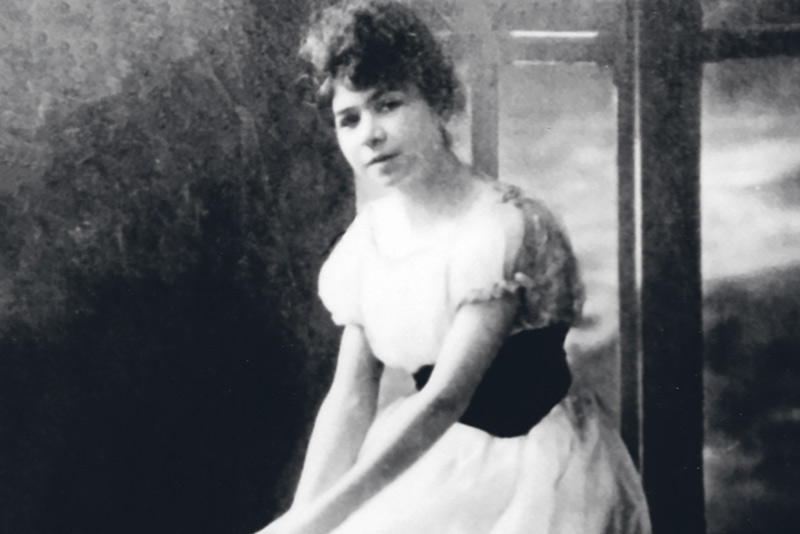 Alfonsina Storni a 24 anni