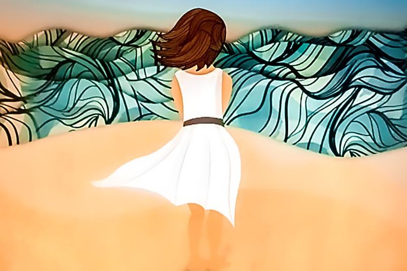 Fotogramma del video di Catedra Salomone su Alfonsina Storni