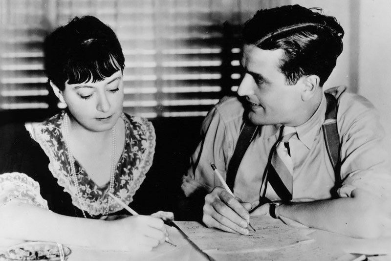 Dorothy Parker con Alan Campbell