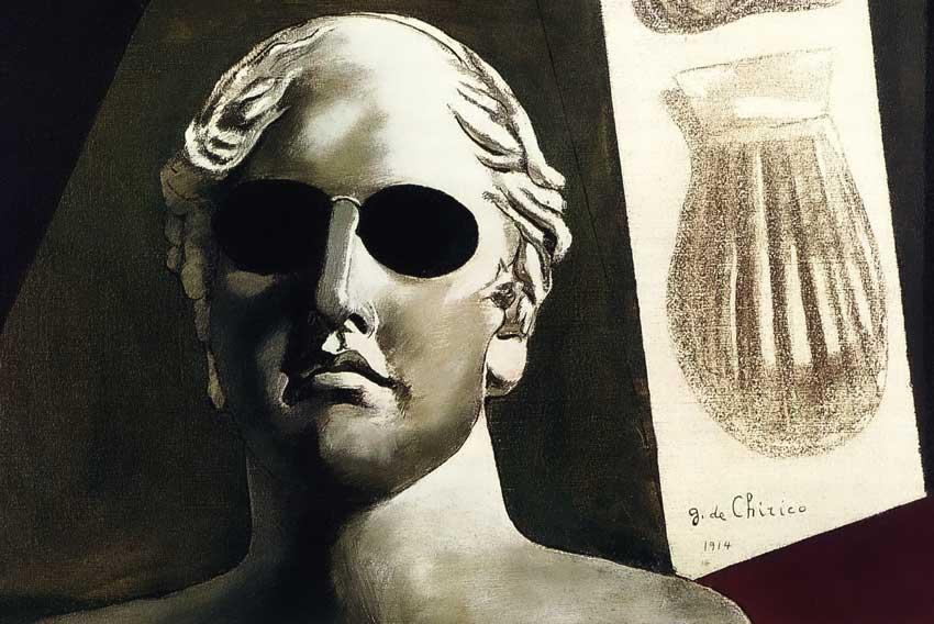 Giorgio de Chirico, Ritratto di Guillaume Apollinaire, 1914