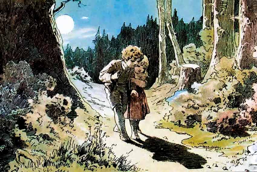 Aleksander Zick Hansel e Gretel