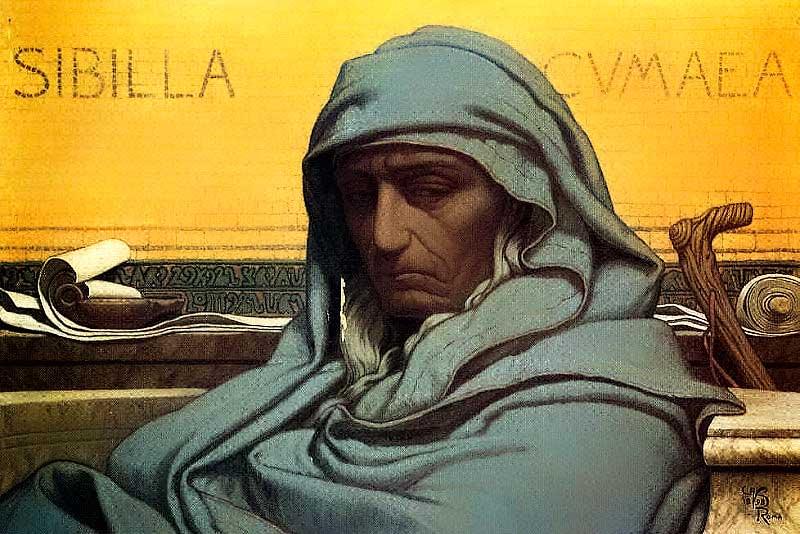 Sibilla Cumana, Elihu Vedder (1898)
