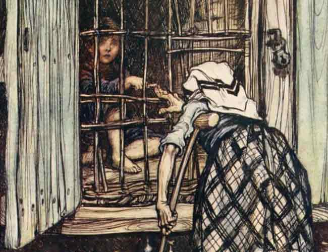 Arthur Rackham: Hansel and Gretel