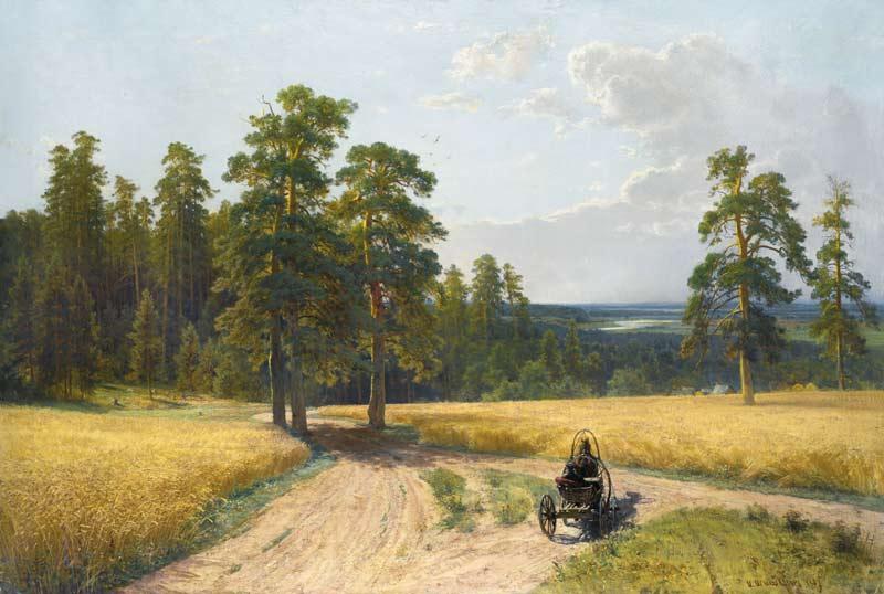 Ivan Shishkin, Ai margini di una pineta