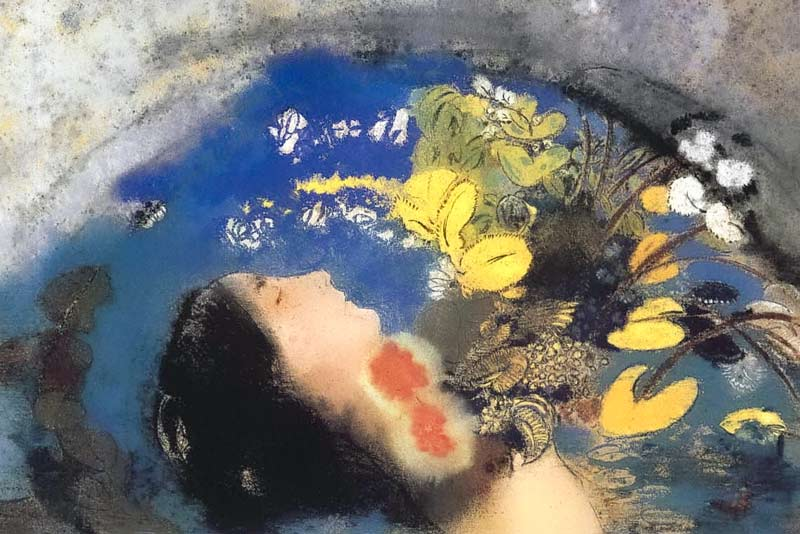Odilon Redon, Ofelia, 1903