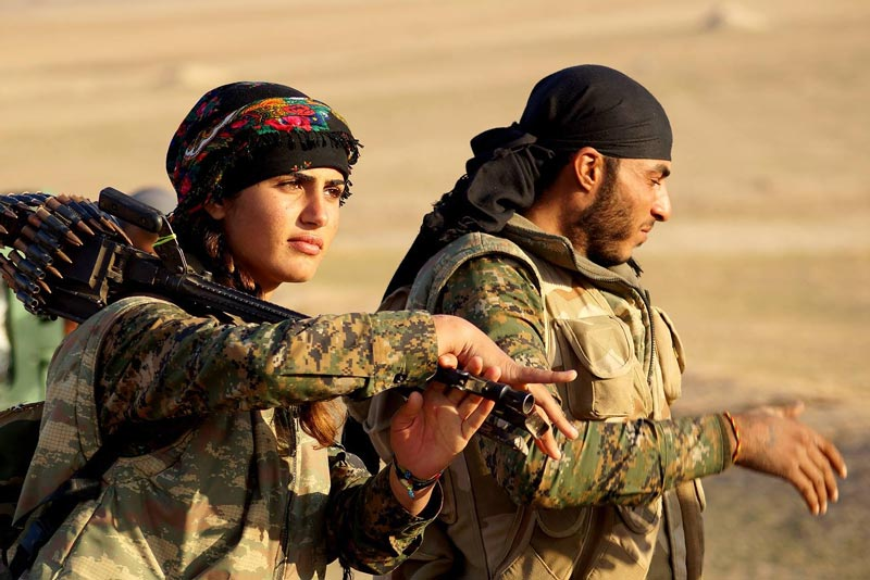 Soldati curdi