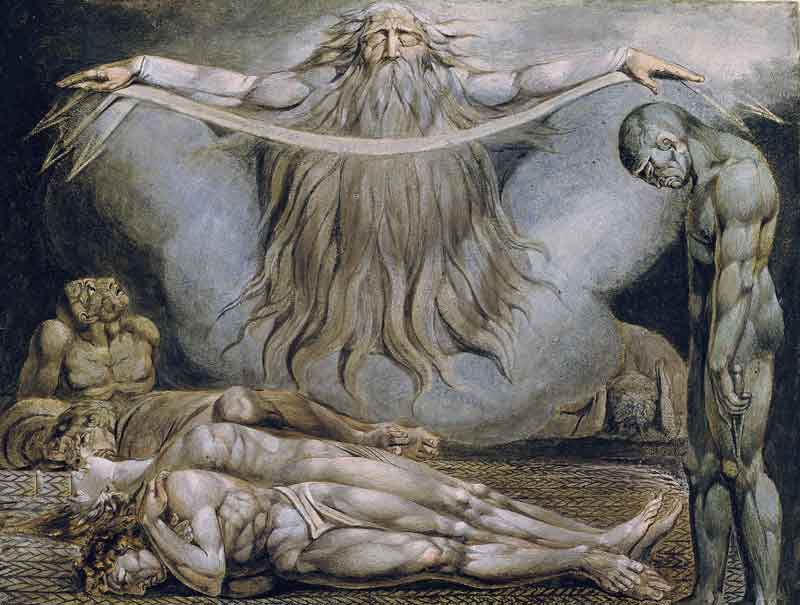 William Blake, la casa della morte, 1757