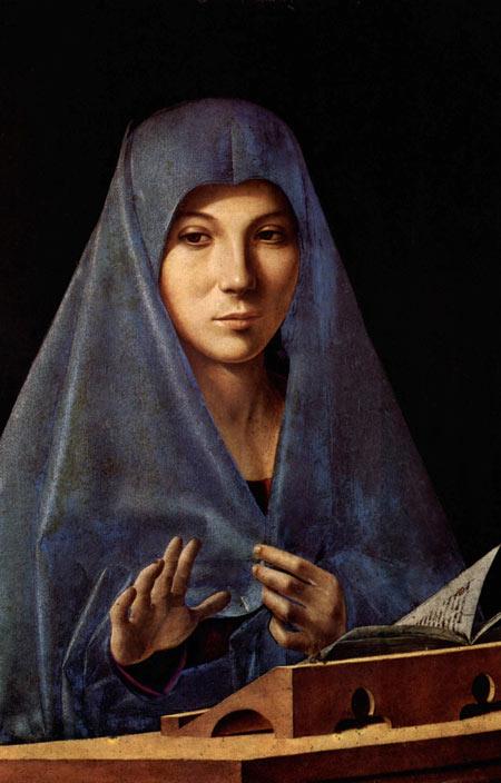Antonello da Messina, Annunziata, 1474