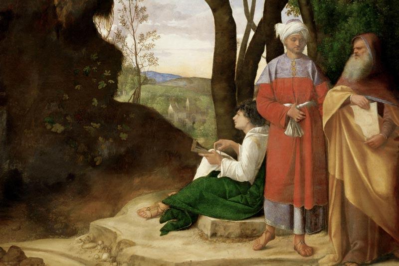 Giorgione, Tre filosofi, 1908-09