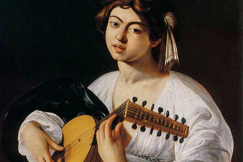Caravaggio, Il suonatore di liuto, 1600