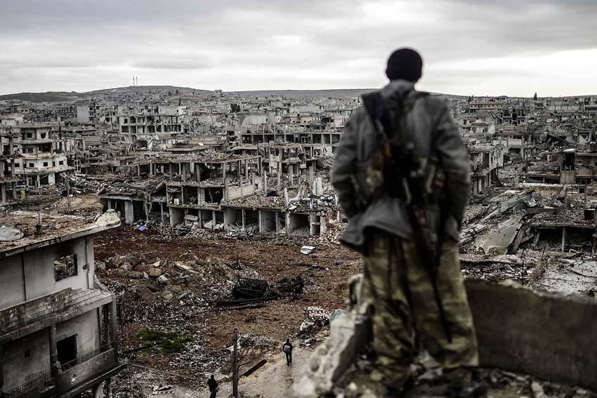Soldato curdo
