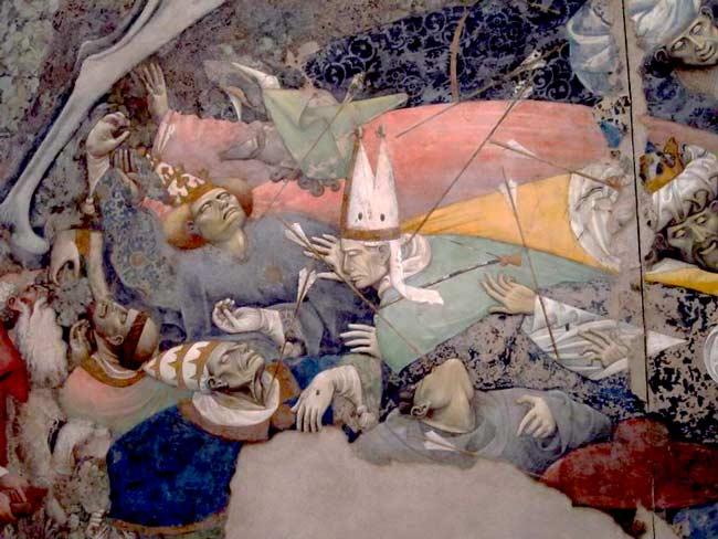 Trionfo della morte, Palazzo Abatellis, Palermo