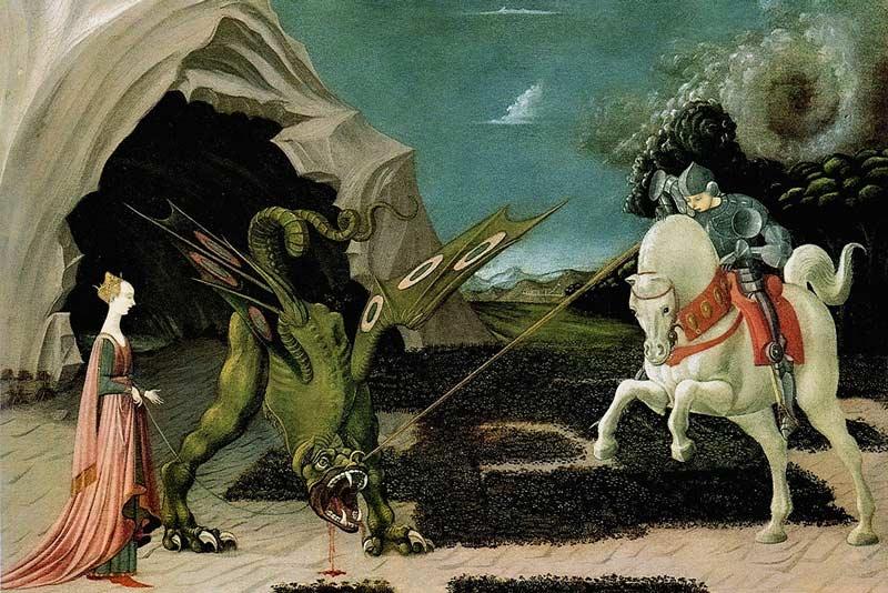 Paolo Uccello San Giorgio e il Drago