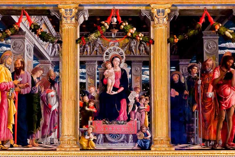 Andrea Mantegna, Pala di San Zeno, Chiesa di San Zeno, Verona, 1456-1460.
