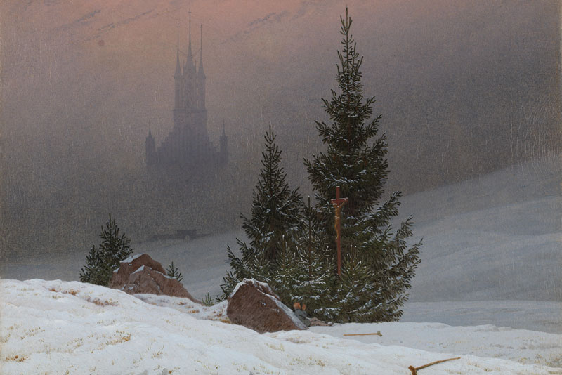 Caspar David Friedrich Winterlandschaft