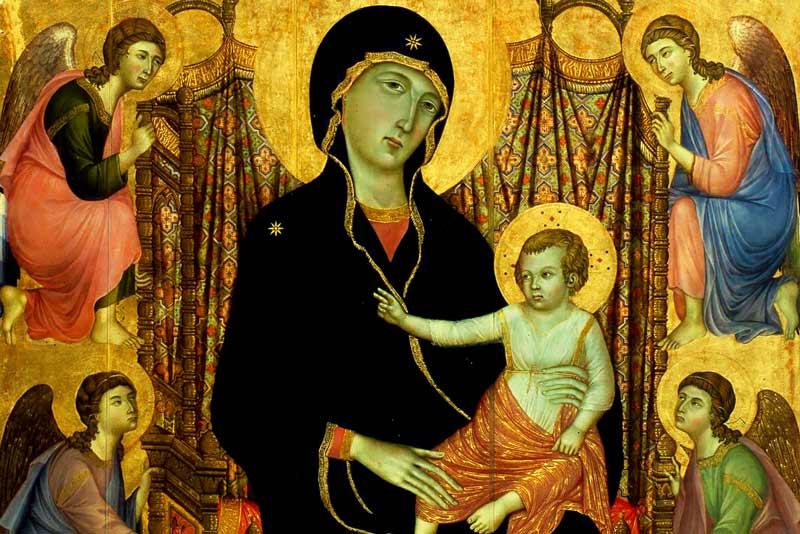 Duccio di Buoninsegna Madonna Rucellai 1285