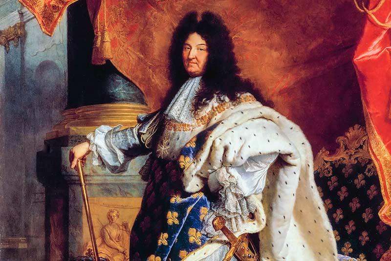 Hyacinthe Rigaud, Ritratto di Luigi XIV